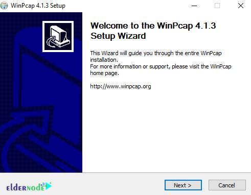 WinPCAP installation
