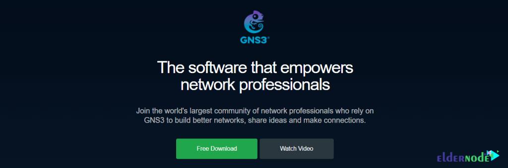 GNS3 website