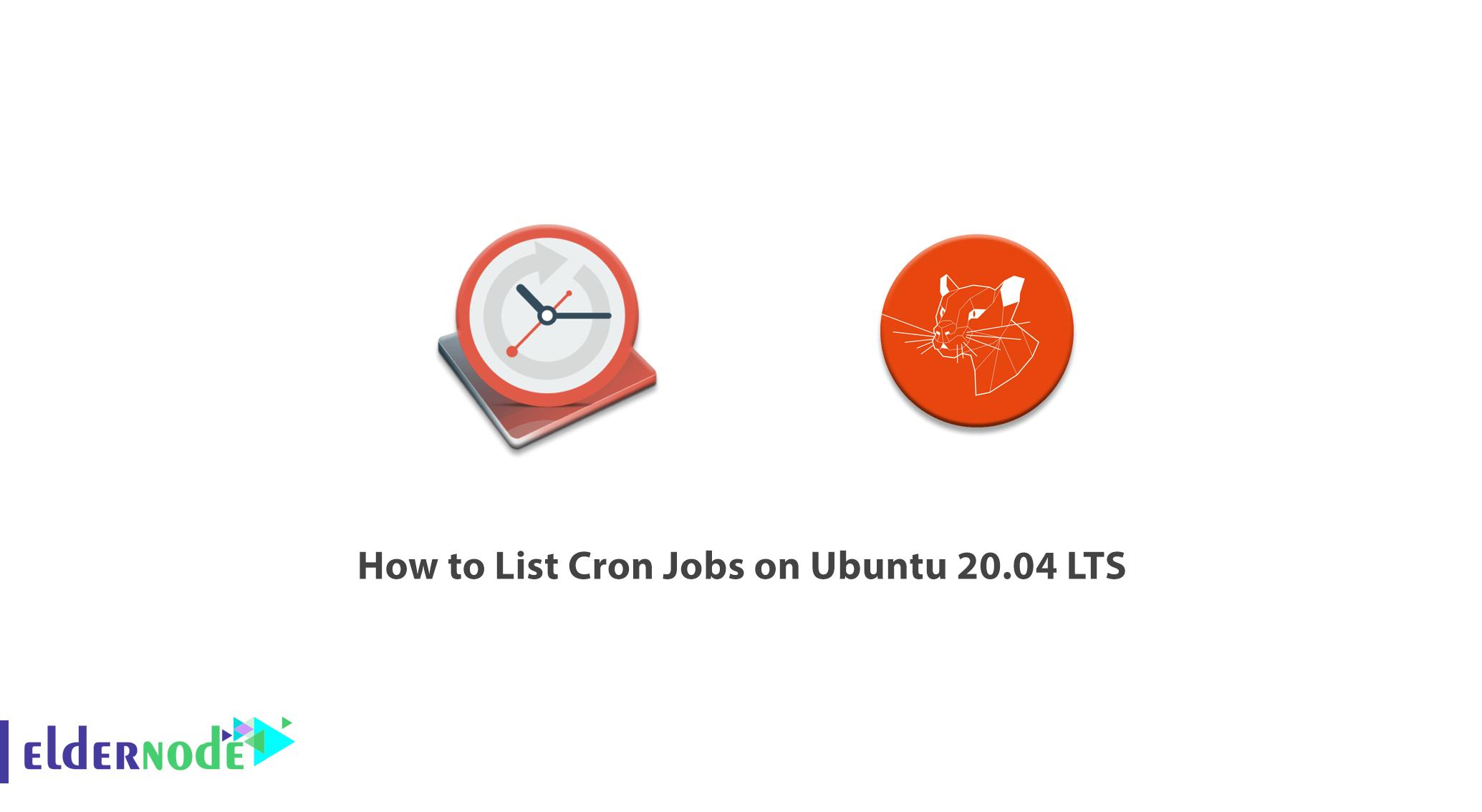 How to List Cron Jobs on Ubuntu 20.04 LTS