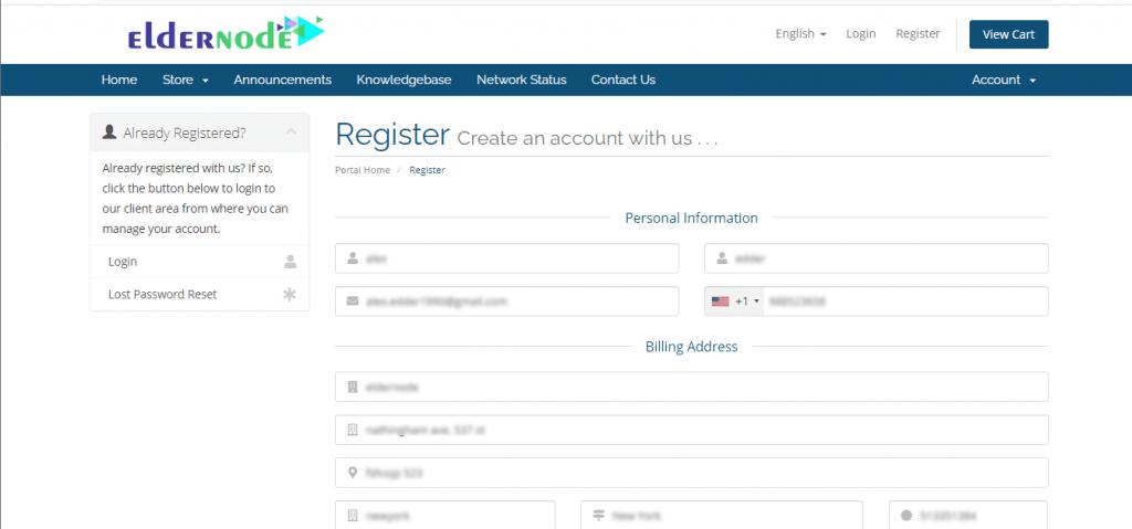 How to Register on Eldernode