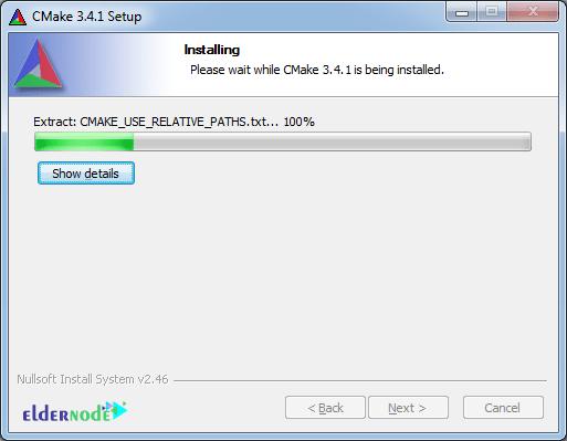 CMake installation process