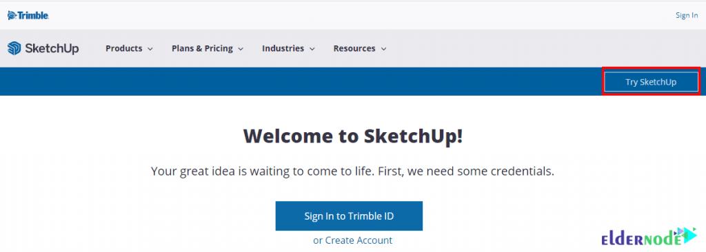 Sketchup download page