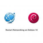 Restart Networking on Debian 10