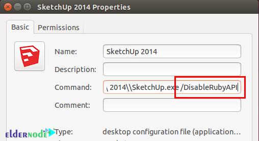 Sketchup 3D properties