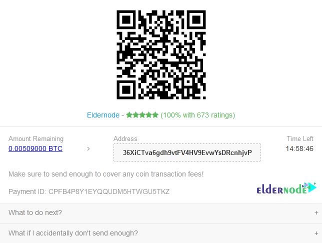 payment on Eldernode