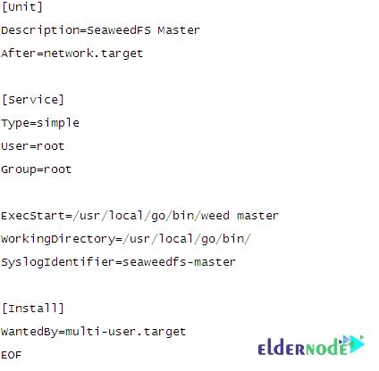 Start the master server using Systemd