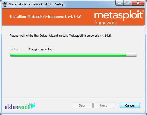 installing msf on windows server