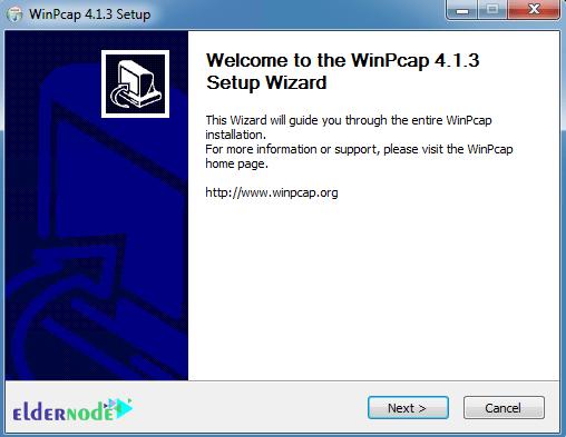 install winpcap on windows