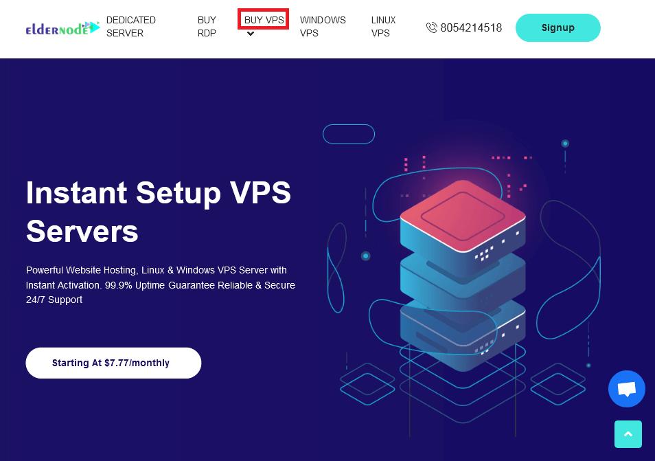 Buy VPS on Eldernode