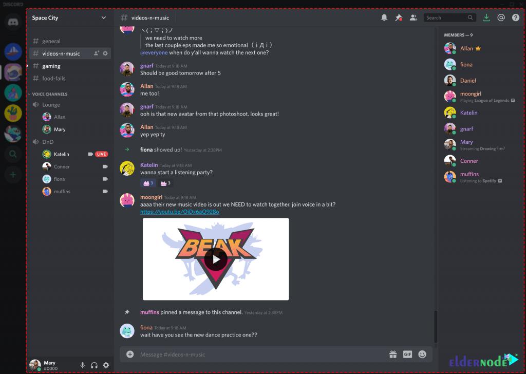 friend server in discord