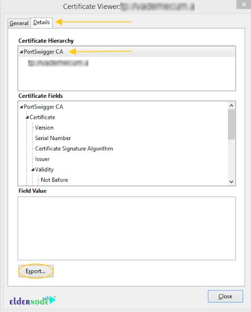 certificate viewer