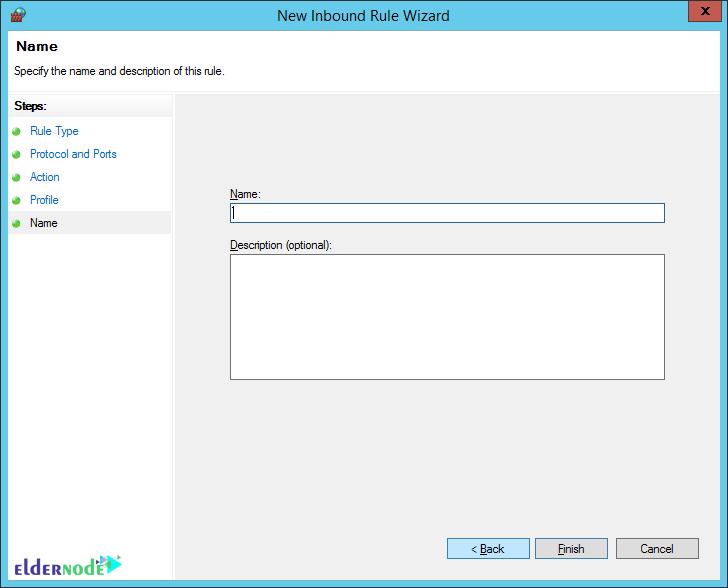 change default rdp port on firewall