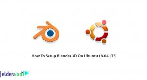 How To Setup Blender 3D On Ubuntu 18.04 LTS