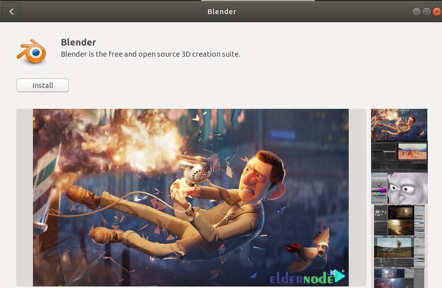 Setup Blender 3D on Ubuntu