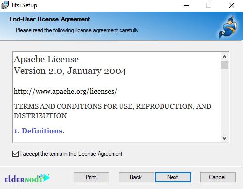 jitsi license agreement