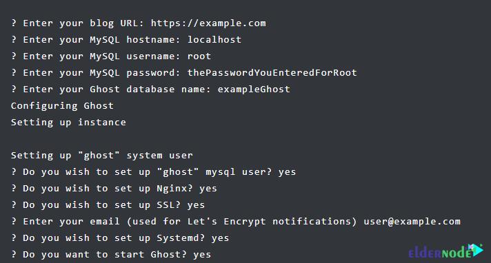 how to install ghost on ubuntu 20.10