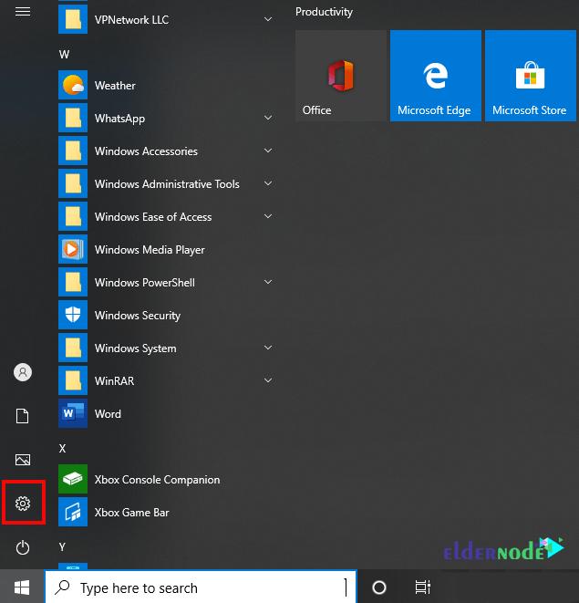 windows 10 rdp settings