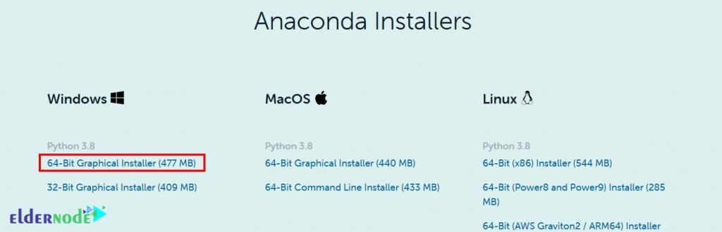 download anaconda on windows