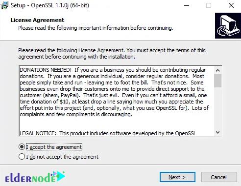 installing openssl on windows server