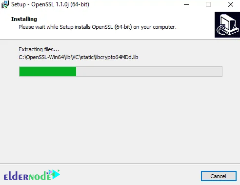how to install openssl on rdp 2016