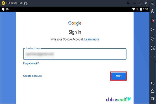 ldplayer google login