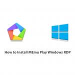 How to Install MEmu Play Windows RDP