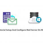 Tutorial Setup And Configure Mail Server On RDP