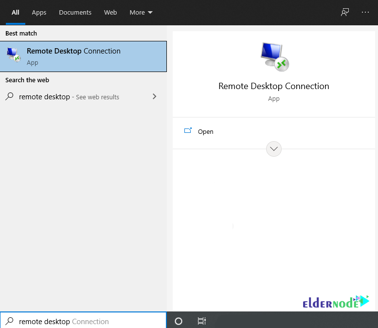 how to run remote desktop connection