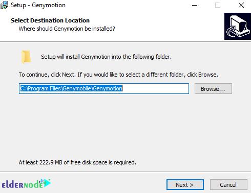 installation location of genymotion