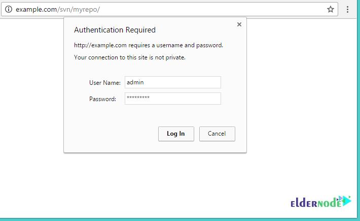 How to access SVN web interface on Ubuntu 20.04