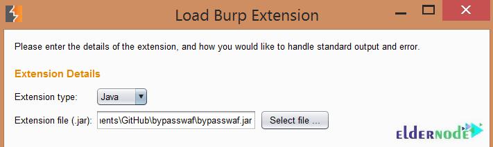 Load Burp Extension