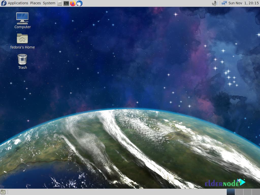 mate desktop environment on fedora