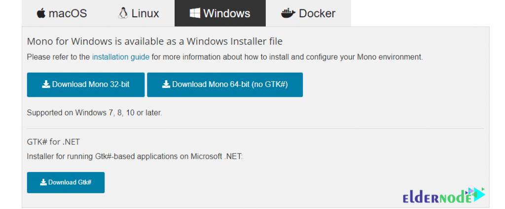 download monodevelop on windows