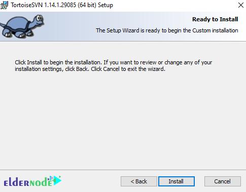 how to install TortoiseSVN on windows 10