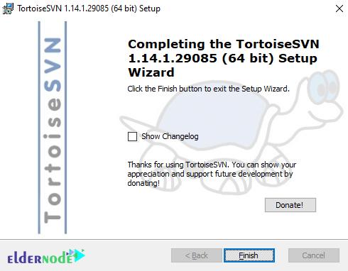 install TortoiseSVN on windows 10