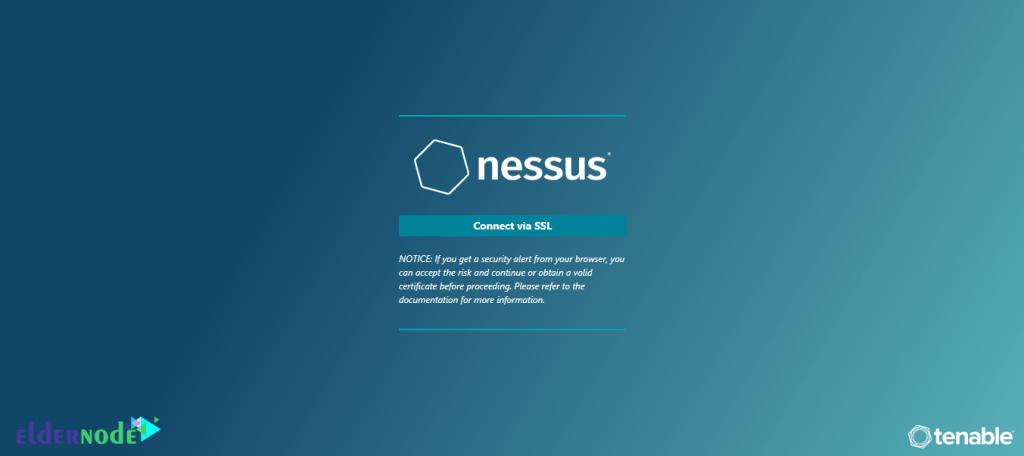 nessus screen