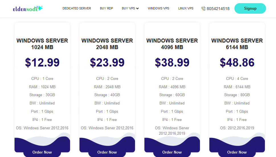 VPS With SSD Storage on Eldernode